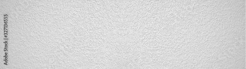 Canvas Print white rough plaster facade texture background banner panorama
