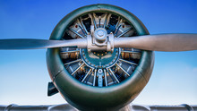 Propeller Of An Historical Airplane