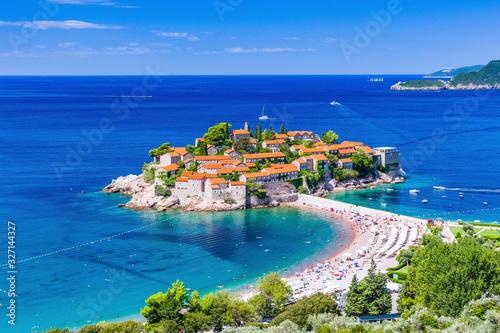 Fotomural Sveti Stefan, Montenegro.
