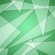 Leinwanddruck Bild - green texture trangle gradient effect background/wallpaper