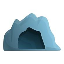 Cave Entrance Icon. Cartoon Of...