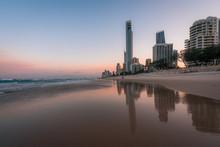 Sunrise At Surfers Paradise, G...