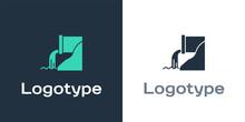 Logotype Wastewater Icon Isola...