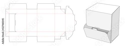 Obraz Candy packaging box die cut template design - fototapety do salonu