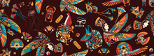 Ancient Egypt Seamless Pattern...