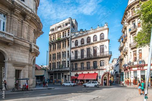 Cuadros en Lienzo Havana City Streets