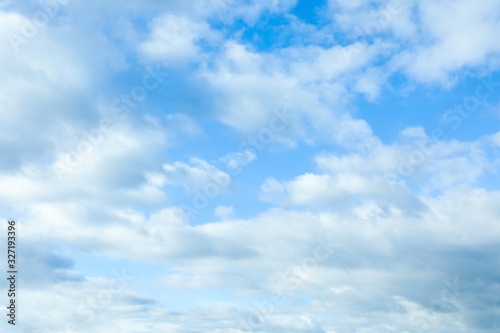 Fotografia, Obraz Beautiful view of blue sky with clouds
