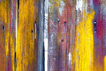 Vivid Texture Of An Old Wooden...