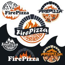 Italian Hot Pizza Oven Logo