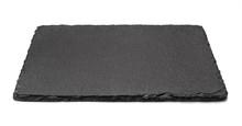 Black Slate Rectangular Plate,...