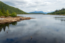 Mountains Beyond The Lake At D...