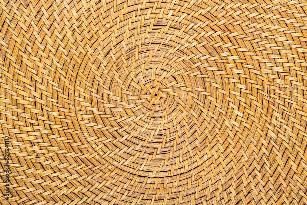 Tressage circulaire en osier