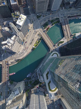 Trump Tower,  Chicago, Aerial Photography