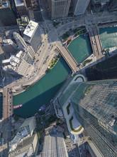 Trump Tower,  Chicago, Aerial ...