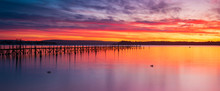 Sunset At Sandbanks In Poole H...