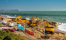Replacement Of Groynes And Sea Defences At Bournemouth Beach