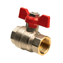 Isolated Object Shut-off Valve With Red Valve