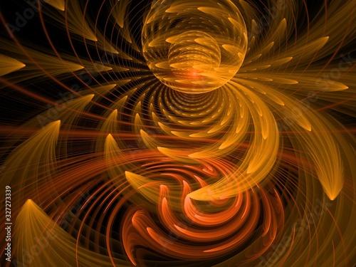幻想な背景 抽象 8kイメージ Canvas Print