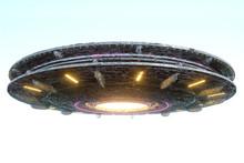 UFO, An Alien Plate Soars In T...
