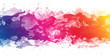 canvas print picture - Abstract stain watercolors.colors wet on dry paper