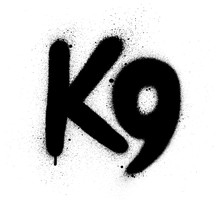 Graffiti K9 Abbreviation Spray...