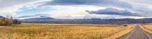 Roadtrip In Iceland Panorama O...