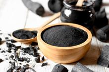 Black Charcoal Powder For Faci...
