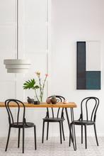 Elegant Dining Room Interior W...