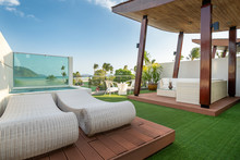Exterior Rooftop Balcony With ...