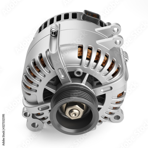 Photo Car alternator
