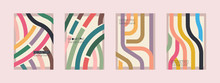 Set Of Four Abstract Backgroun...