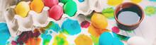 Easter Photo. Happy Easter. Eg...