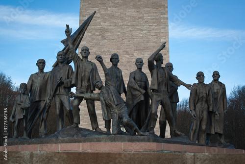 Obraz na płótnie A memorial in Buchenwald concentration camp