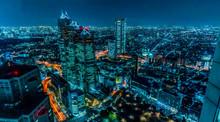 東京 新宿 夜景 サイバ...