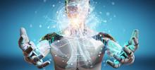 Cyborg Using Digital Artificia...