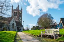 St Andrew's Church In Farnham,...