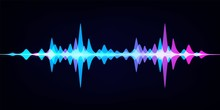 Sound Wave Equalizer. Modern A...