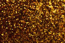 Gold Sparkle Glitter Backgroun...