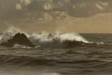 Light Of A Sea Storm A Sunset
