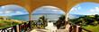 canvas print picture - Veranda Panoramic