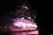 Spectacular Fireworks Light Up The Night