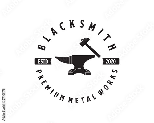 Canvas Print blacksmith