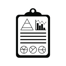 Data Analysis Line Icon Vector...