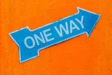 Sign Say One Way