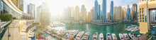 Dubai Marina Panorama In Morni...