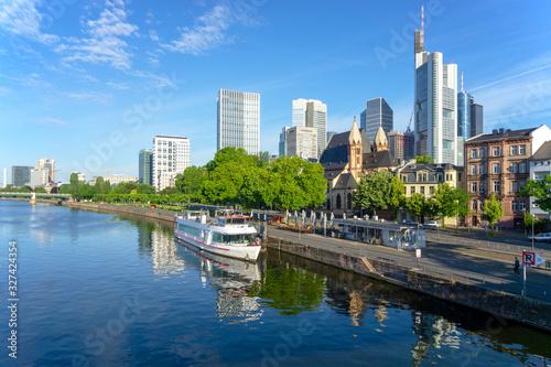 Fotografía Frankfurt financial district