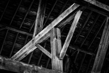 Large Timbers And Beam Of An O...