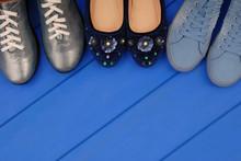 Assortment Of Female Footwear ...