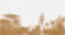 3d Realistic Dust Cloud Isolat...