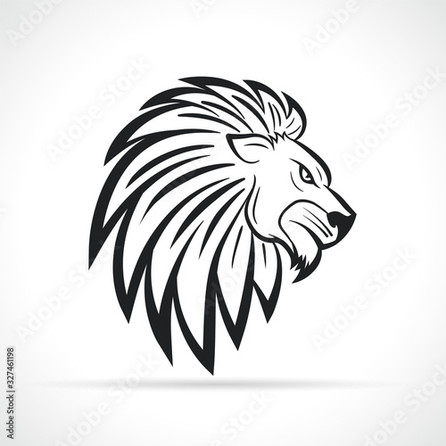 Fototapety, obrazy: Vector lion head design symbol